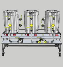 3 Vessel Brewing System