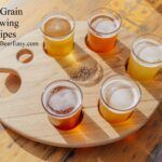 Flight of all grain beer